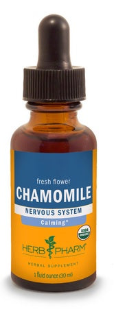 HERB PHARM ORGANIC CHAMOMILE, 4 OUNCES