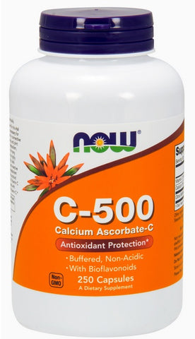 NOW FOODS, C-500 CALCIUM ASCORBATE, 250 CAPS