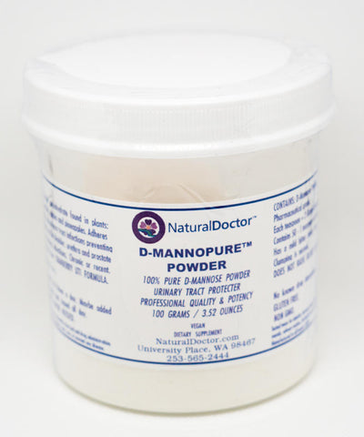 Natural Doctor, D-MannoPure Powder, 100 Grams