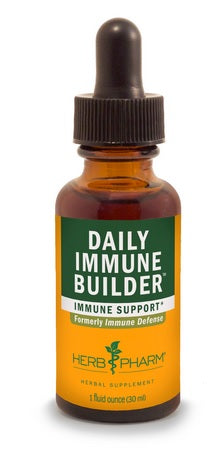 HERB PHARM ORGANIC DAILY IMMUNE BUILDER, 4  OUNCES