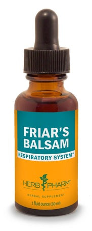 HERB PHARM ORGANIC FRIAR'S BALSAM, 4 OUNCES