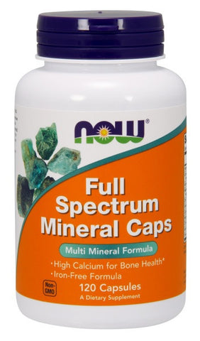 NOW FOODS, FULL SPECTRUM MINERALS, 120 CAPSULES