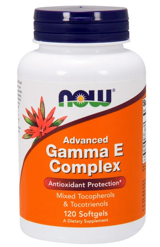 Now Foods, Advanced Gamma E Complex, 120 Softgels