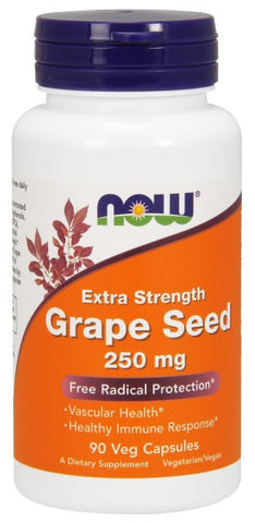 NOW FOODS GRAPE SEED EXTRACT 250 MG, 90 CAPSULES