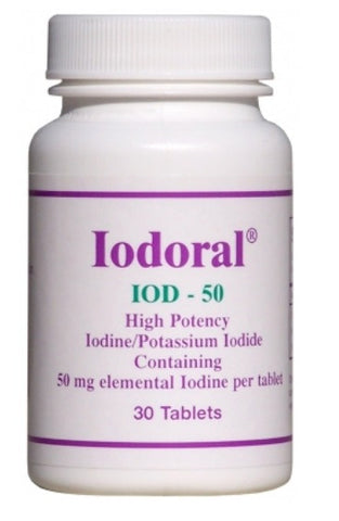 OPTIMOX IODORAL 50 MG, 30 TABLETS