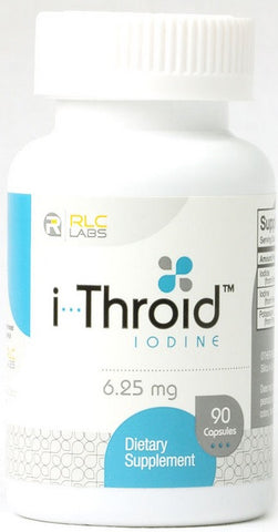 RLC LABS i THROID IODINE 6.25 MG, 90 VEG CAPSULES