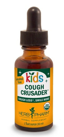 HERB PHARM ORGANIC KIDS COUGH CRUSADER, 1 OUNCE