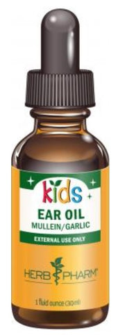 HERB PHARM ORGANIC KIDS MULLEIN GARLIC EAR OIL, 1 OUNCE