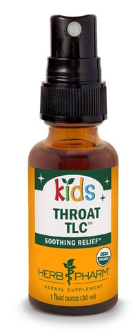 HERB PHARM ORGANIC KIDS ORGANIC THROAT TLC SPRAY, 1 OUNCE