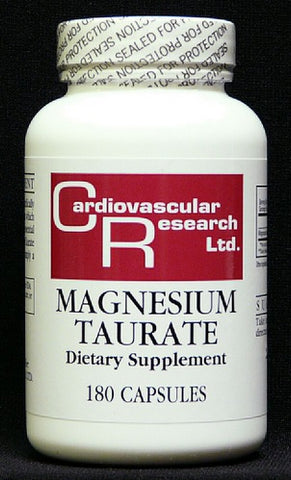 CARDIOVASCULAR RESEARCH MAGNESIUM TAURATE, 180 CAPS