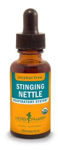 HERB PHARM ORGANIC STINGING NETTLE ALCOHOL FREE GLYCERITE, 4 OUNCES
