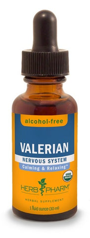 HERB PHARM ORGANIC VALERIAN  ALCOHOL FREE GLYCERITE, 4 OUNCES
