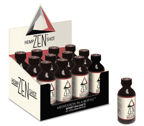 ZEN HEMP SHOT, 12 - 4 OUNCE