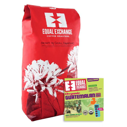 Equal Exchange Organic Coffee, Guatemalan French Roast Coffee, 5lbs