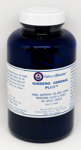 Natural Doctor, Ginseng Adrenal Plus, 600mg, 240 Caps