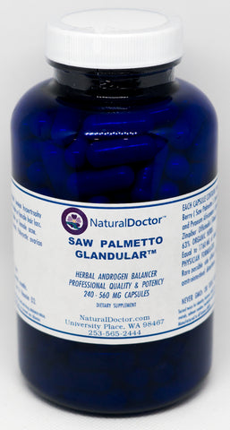 NaturalDoctor  Saw Palmetto Glandular  560 mg  240 Caps