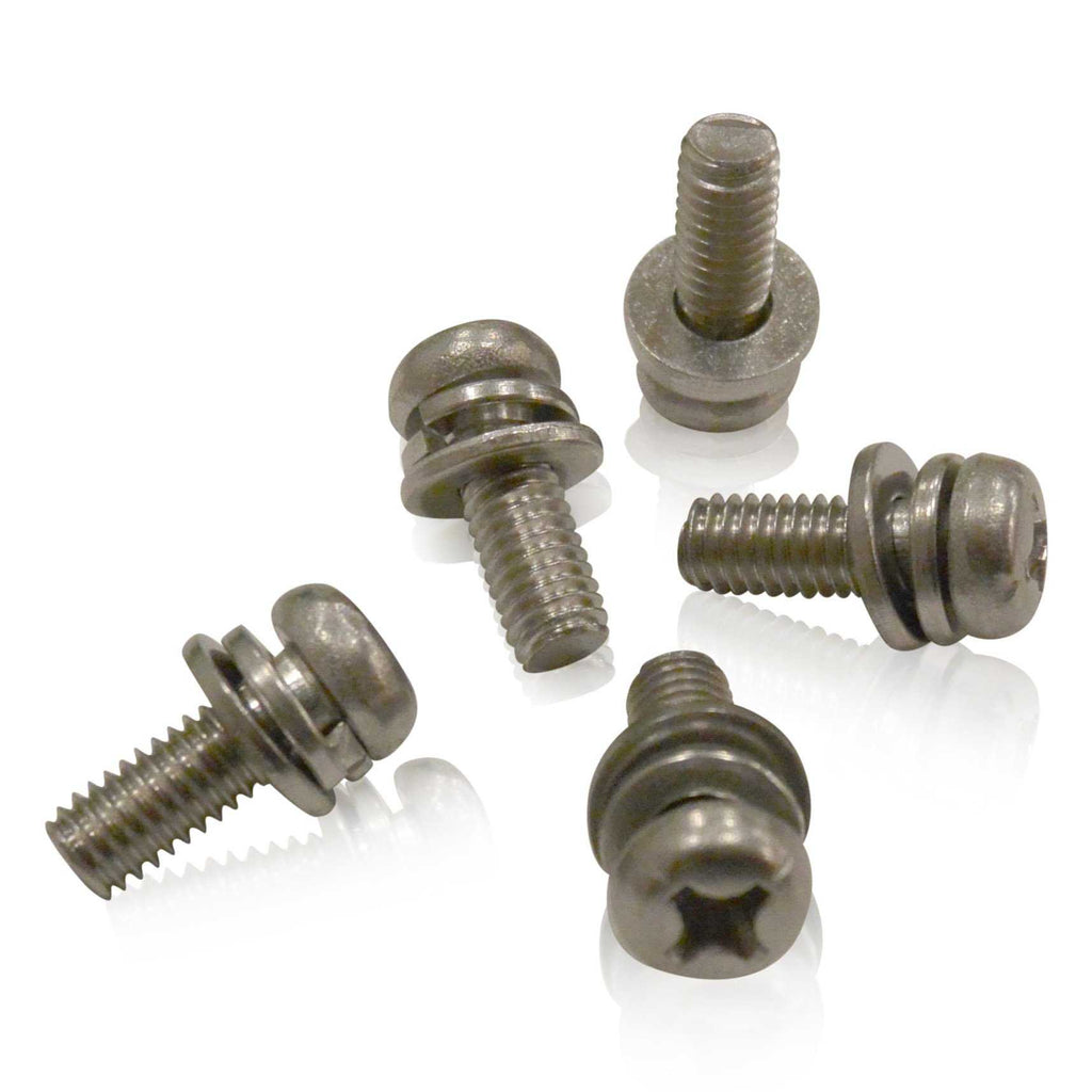 M8x20x1.25 Pan Head SEMs Machine Screw | Marine Grade Stainless | JIS B1188 B, Stainless Hardware JIS - Overland Metric