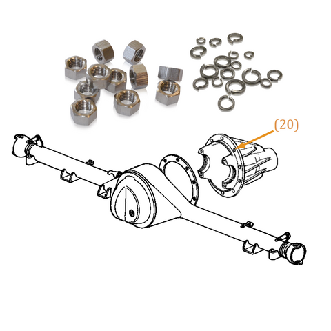 Stainless Steel Engine Bolt Kits