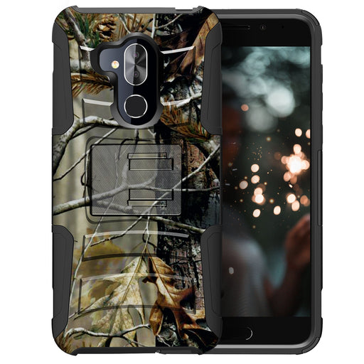 Alcatel 7 Case [Holster][Branch Camo]