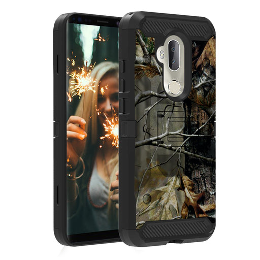 Alcatel 7  Case [Max Guard][Branch Camo]
