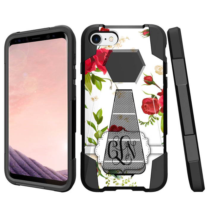 iPhone 8 Kickstand Case [Custom Roses Design]
