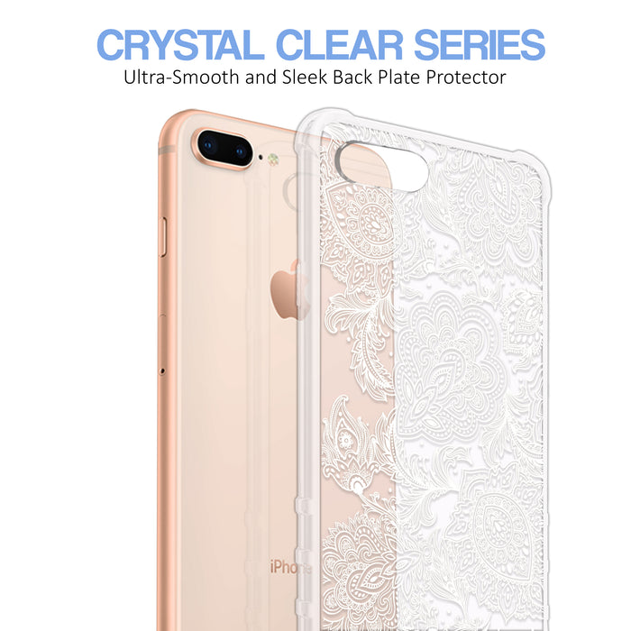 Apple iPhone 7 Plus Case [Ultra Clear][Black Henna]