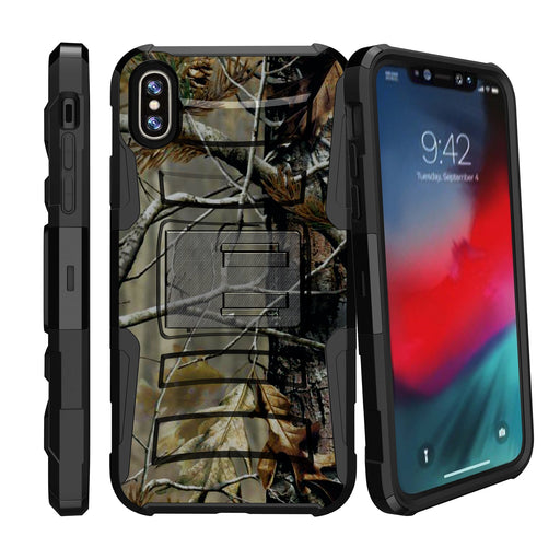 Apple iPhone 9 Case [Holster][Branch Camo]