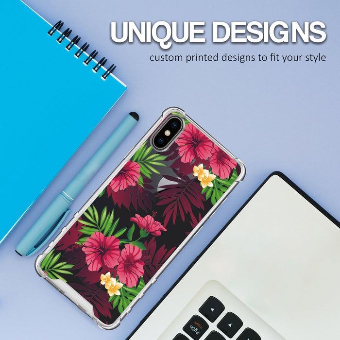 Apple iPhone X Case [Ultra Clear][Tropical Night]