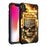 Apple iPhone Xs Max Case [Holster][Red Fire Skull]