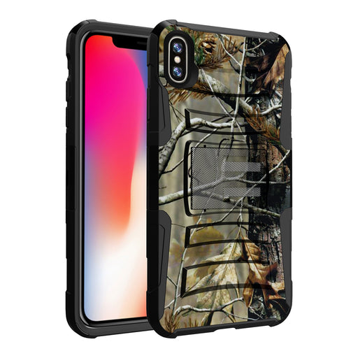 Apple iPhone Xs Max Case [Holster][Branch Camo]