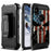 Apple iPhone Xs Max  Case [Max Guard][USA Flag Skull]