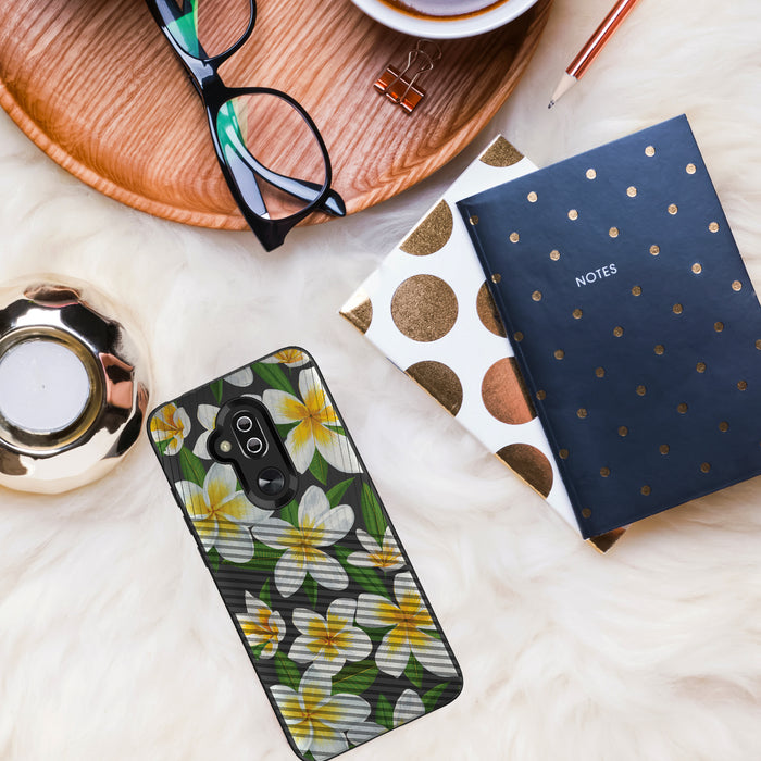 Alcatel 7 [Slim Fit][Hawaiian Flowers]