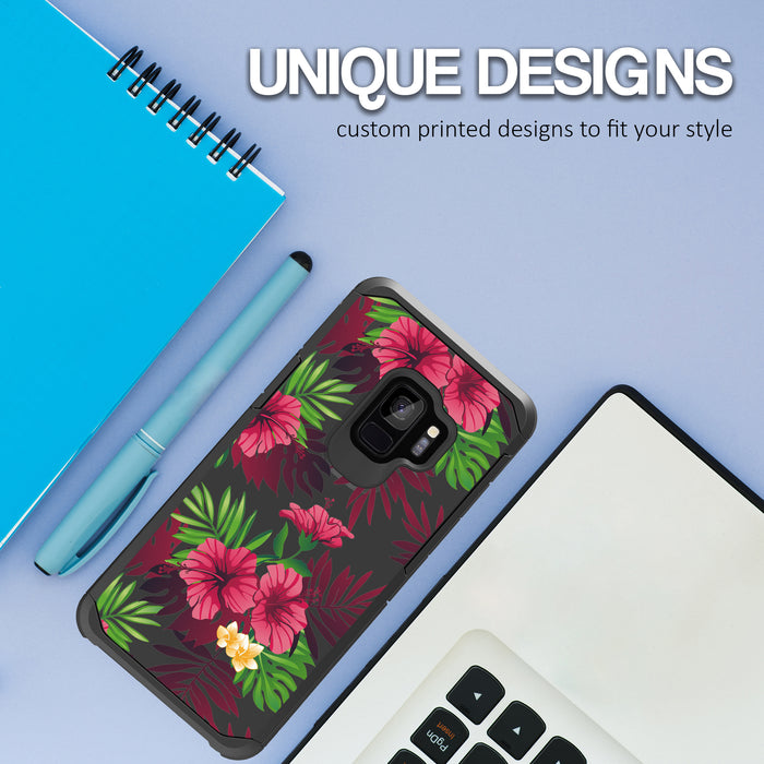 Samsung Galaxy S9 Case [Slim Shield][Tropical Night]