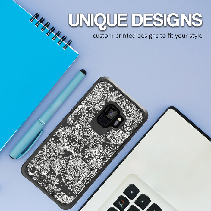 Samsung Galaxy S9 Case [Slim Shield][Black Henna]