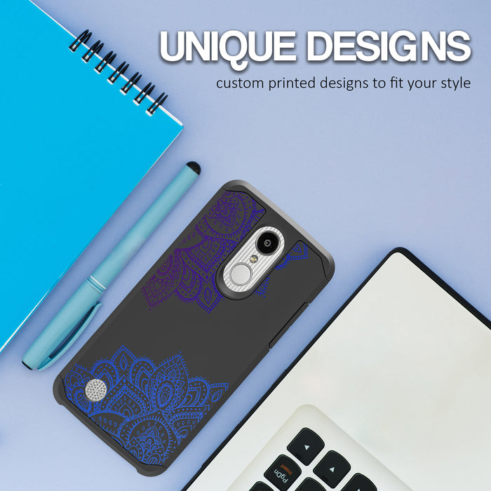 LG Aristo Case [Slim Shield][Blue Mandala]