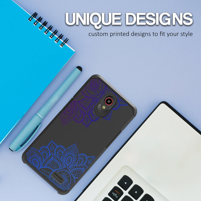 ZTE Prestige Case [Slim Shield][Blue Mandala]