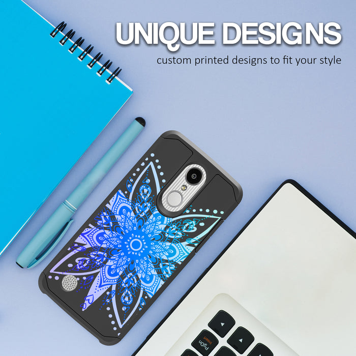 LG Aristo Case [Slim Shield][Heart Mandala]