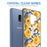 Samsung Galaxy S9 Plus Case [Clear/ Gray Bumper][Bumble Bee Roses]