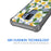 Samsung Galaxy S9 Plus Case [Clear/ Gray Bumper][White Hawaiian Flowers]