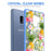 Samsung Galaxy S9 Plus Case [Clear/ Blue Bumper][Tropical Pineapple]