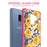 Samsung Galaxy S9 Plus Case [Clear/ Pink Bumper][Bumble Bee Roses]