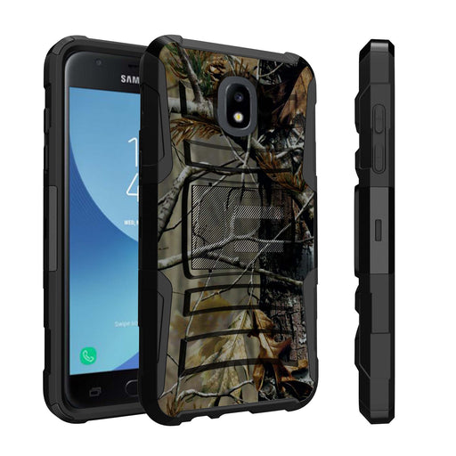 Samsung Galaxy J7 Case [Holster][Branch Camo]