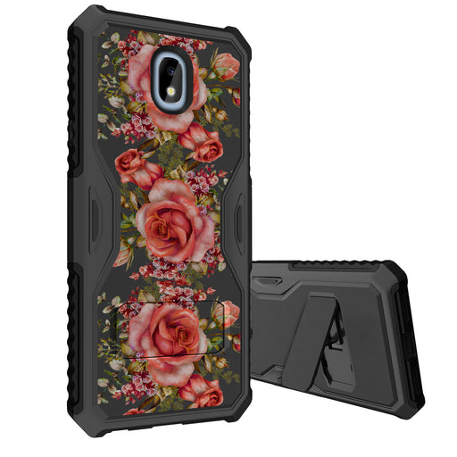Samsung Galaxy J7 Case [Slim Shield][Pink Roses]