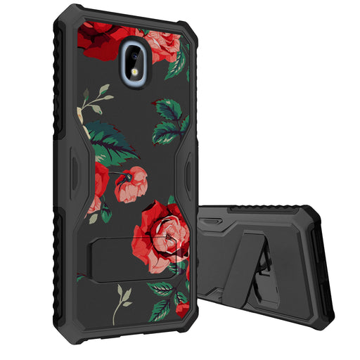 Samsung Galaxy J7 Case [Slim Shield][Red Roses]