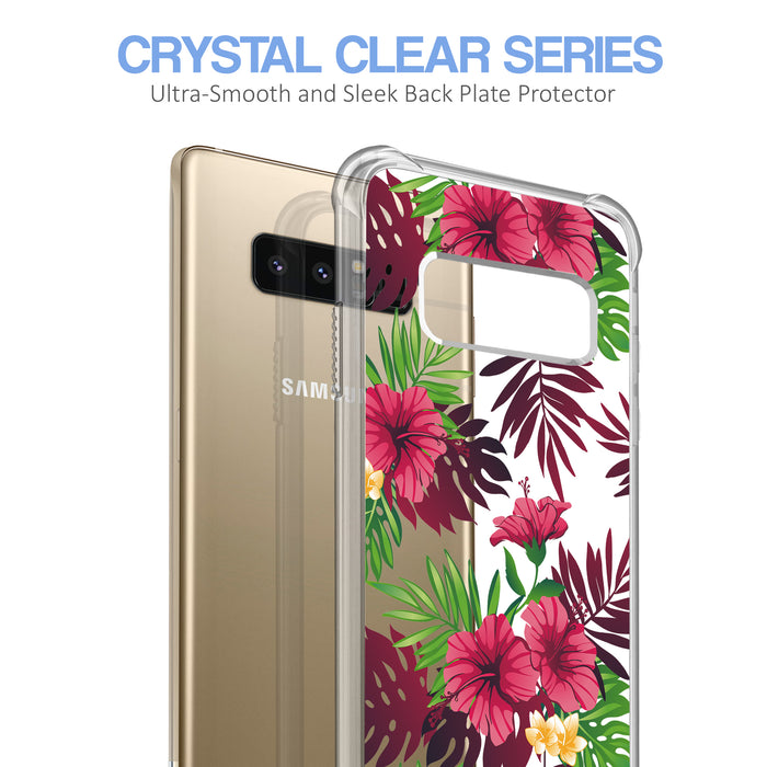 Samsung Galaxy Note 8 Case [Ultra Clear][Tropical Night]
