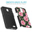 ZTE Prestige Case [Slim Shield][Pink Vine Flower]