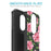 Motorola Moto E5 Cruise  Case [Slim Shield][Pink Vine Flower]