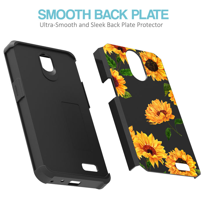 ZTE Prestige Case [Slim Shield][Sunflower]