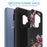 Samsung Galaxy S9 Case [Slim Shield][Purple Flower]