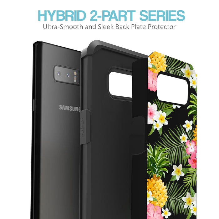 Samsung Galaxy Note 8 Case [Slim Shield][Tropical Pineapple]